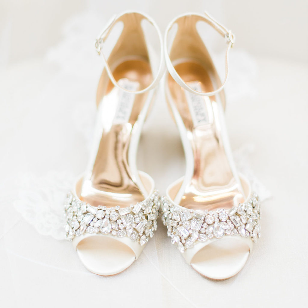 A pair of fancy, sparkly high healed shoes because to read Fancy Nancy, one must be fancy!