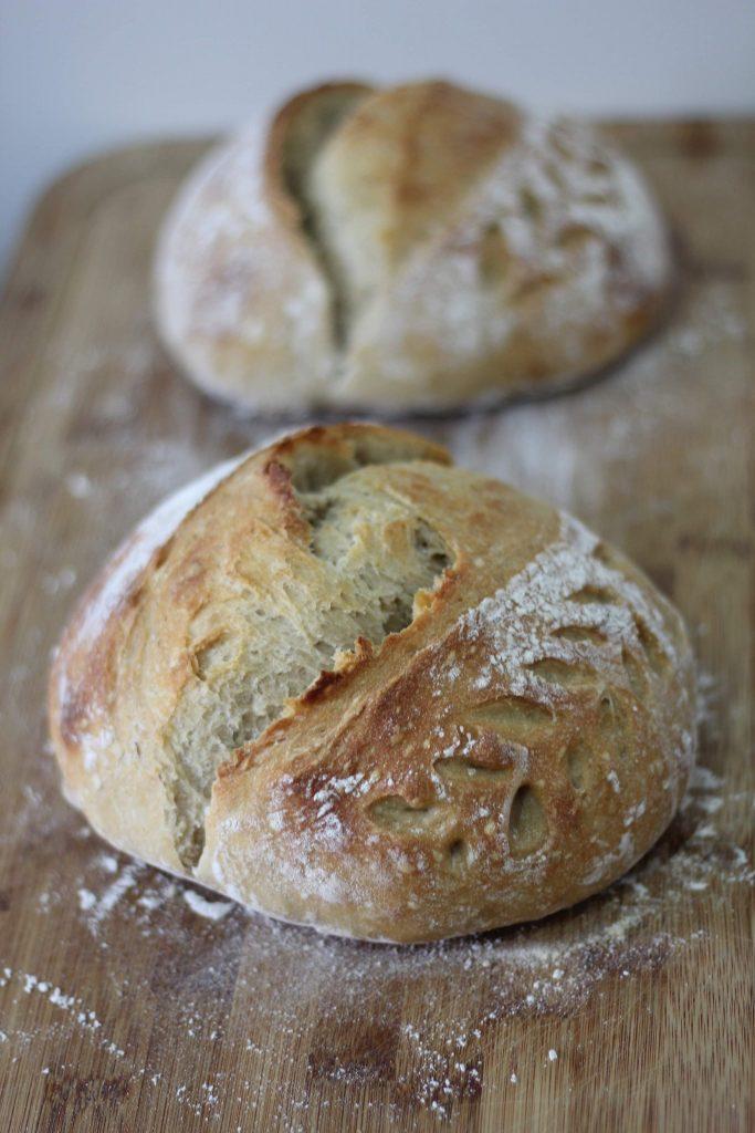 Beautifully cooked Irish Soda Bread made to celebrate St Patrick's Day.